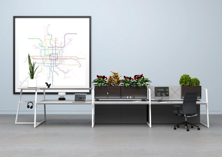 salone del mobile milano, supersalone fusion green l'ufficio sostenibile