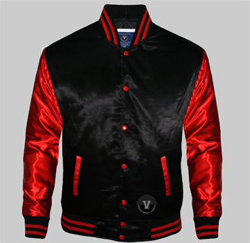 Satin Baseball Archives - Design Varsity Jackets
