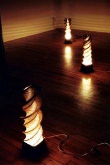 popsickle lamps