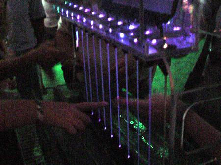 Siggraph water harp
