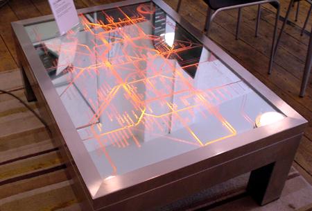 retro light table london