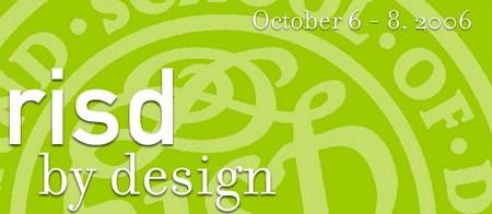 risd by design 2006