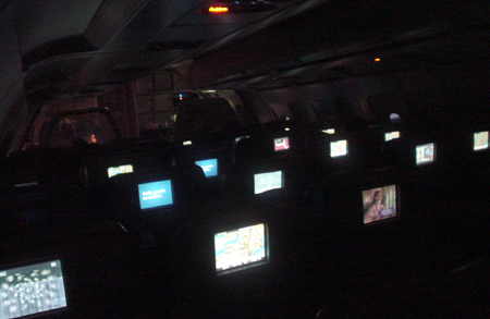 jetblue screens