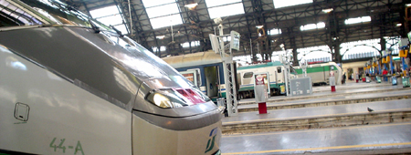 italy trip milan train station