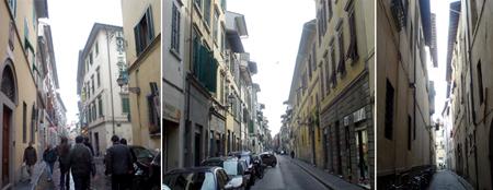 Florence alleyways