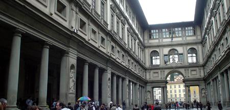 Florence uffizi museum