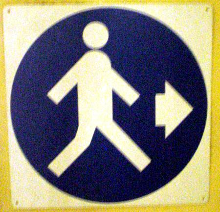 Florence signage walk