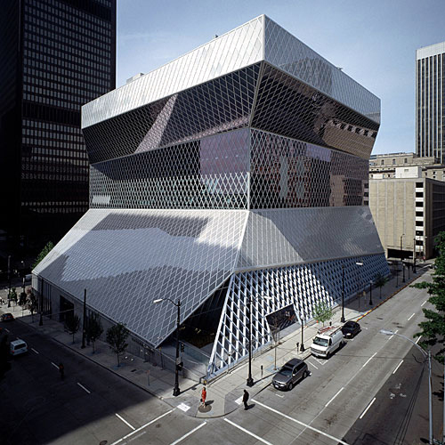 rem koolhaas seattle central library building design