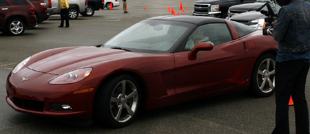 GM Test Drive Detroit Driving Corvette