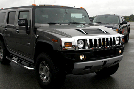 GM Test Drive Detroit Driving Hummer H3