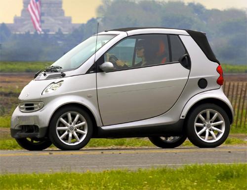 mercedes smart car