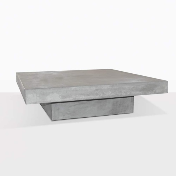 blok square concrete coffee table outdoor accent design warehouse nz