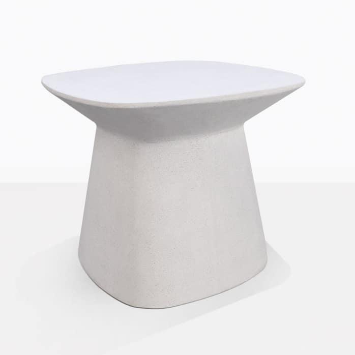 bunni concrete outdoor side table patio furniture design warehouse nz