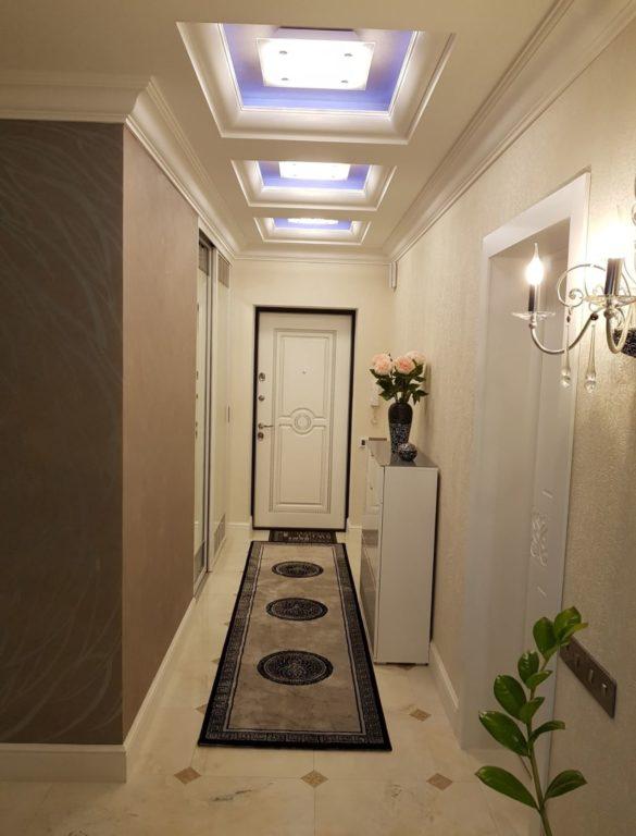 прихожая дизайн коридора 3