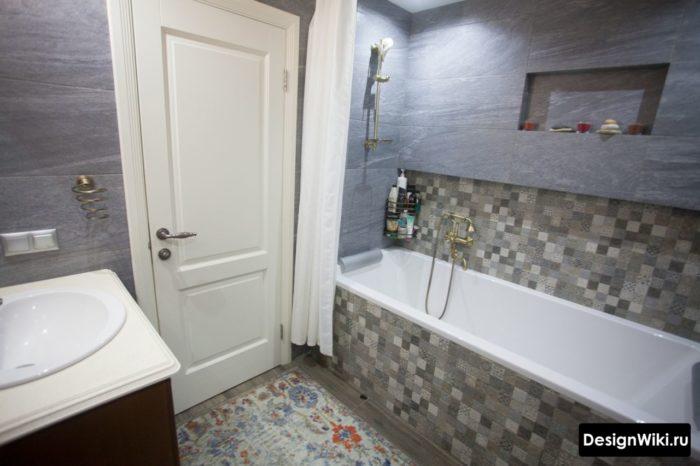 маленькая ванная комната дизайн 2018 3
