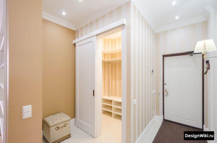 дизайн маленькой прихожей в однокомнатной квартире фото 6