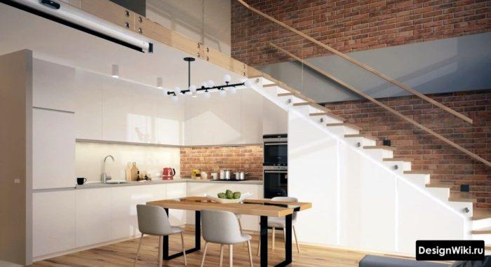 Little Kitchen Design Minimalism
