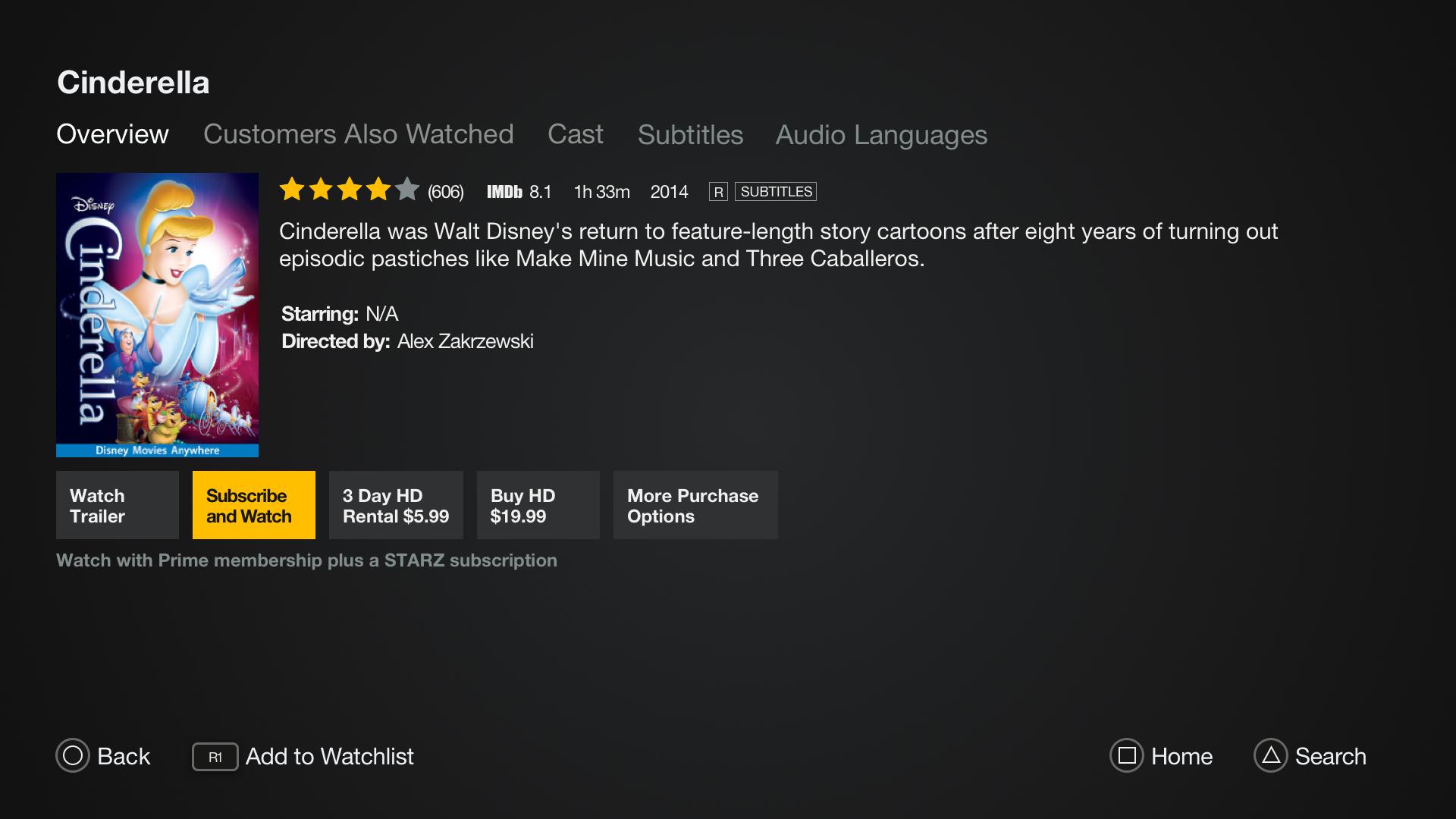 Amazon Video Movie Page stivenskyrah designwithlove