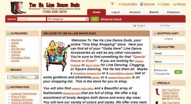 Line Dance Shopping Cart   OpenCart