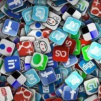 Social Media Activity with all Social Networks