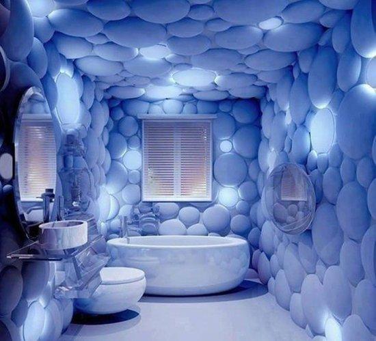3D wallpaper ideas for Bathroom