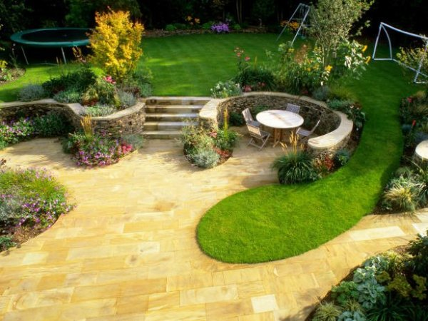 Kids friendly Garden design