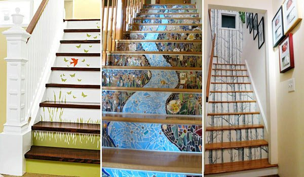 Stair decoration ideas