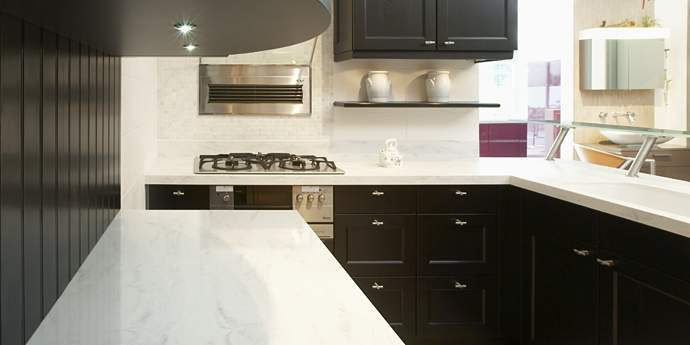 Corian kitchen counter top