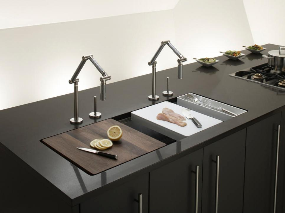 Kitchen Trend Integrated Countertop And Sink Designwud Interiors
