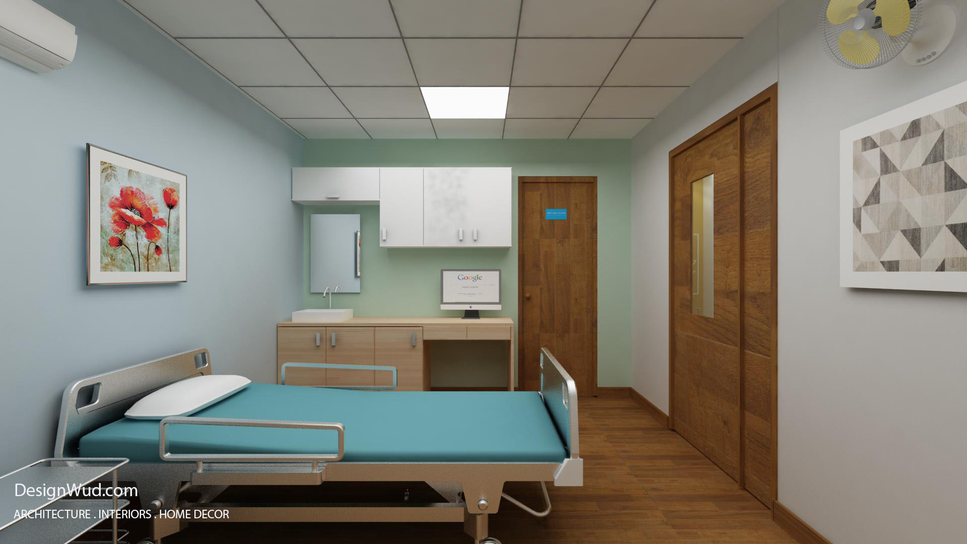 Operating and procedure room