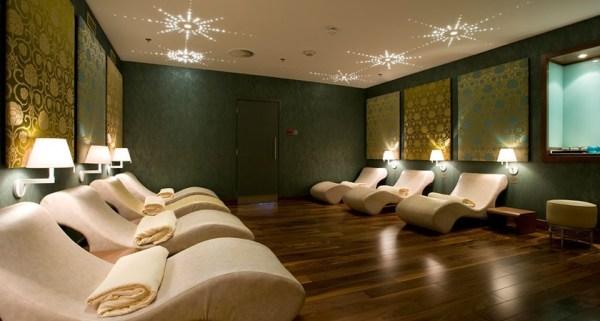 lighting design spa treatment room interiors