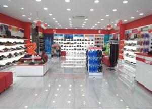 Footwear Retail showroom Interiors