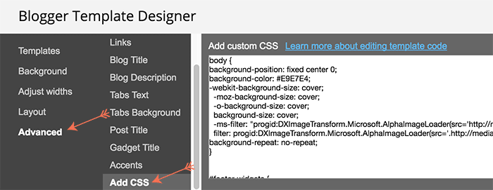 How to edit CSS in your blog or website. Easy tutorial on how to edit CSS in Blogger. Only on www.DesignYourOwnBlog.com