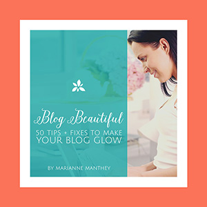 Free Download: Blog Beautiful Preview: 5 Tips + Tricks to Make Your Blog Glow. Get it free here!