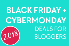 The massive list of Black Friday and Cyber Monday deals for Bloggers - Continuously updated throughout the year with special deals and offers for bloggers and solopreneurs! (Background image courtesy of https://www.hearttakethewheel.com/)