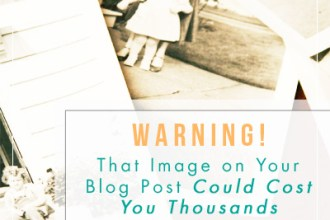 Are your blog images in violation of copyright laws?