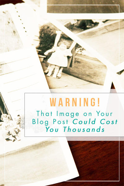 Are your blog images in violation of copyright laws? Read this to find out! Then learn where to find really nice, FREE and legit photography for your blog posts.