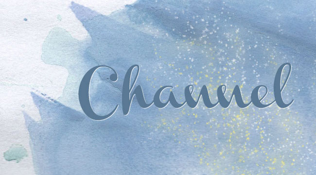Channel, a free font is one of 20 beautiful fat brush scripts at DesignYourOwnBlog.com