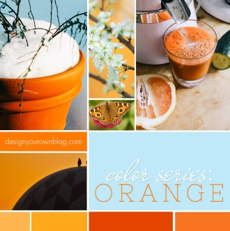 Orange, the controversial hue and how to use it in your blog's design