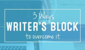 3 Ways to Overcome Writer's Block - Part 2 of 3 Pt series on Blog Writing + Content at DesignYourOwnBlog.com