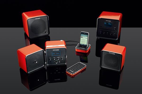 Brionvega radiocubo Radiocubo Retro Design Radio Player