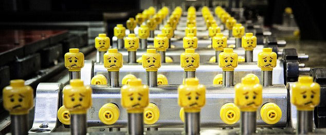 1239 Lego Production Factory in Billund, Denmark