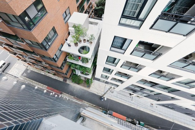 Vertical Garden House by Ryue Nishizawa