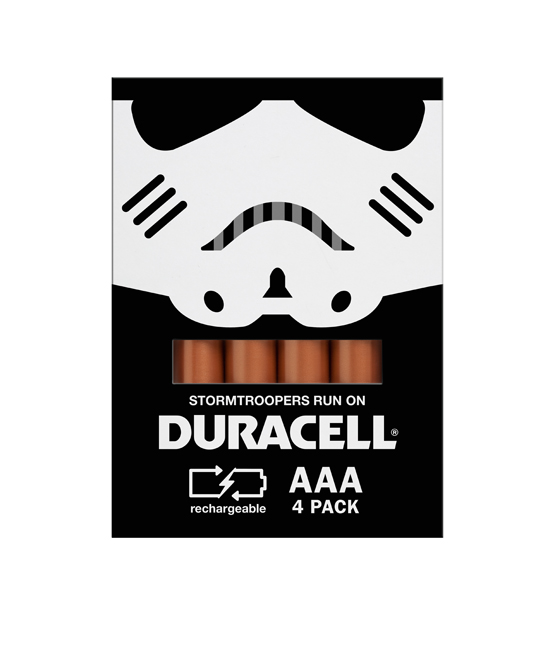 duracell stormtrooper Duracell Promo Packaging