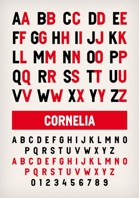 typespecimen Cornelia4 Novo Typo   Cornelia typespecimen