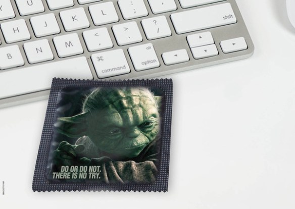 Star Wars Condoms Yoda Star Wars Condoms