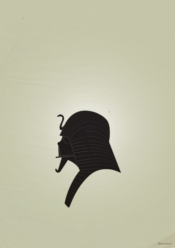 bedb84f8270bffdc05bec2e984269e9b Vadarisim   A playful vector collection using Darth Vader's helmet.
