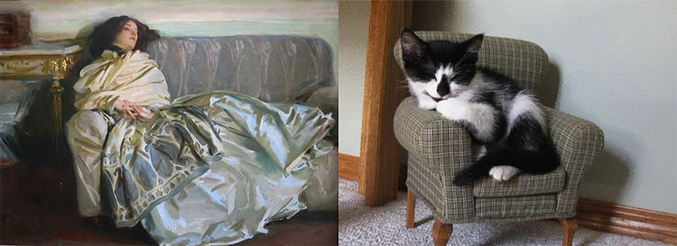 1812 The Copycats: Cats Imitating Famous Works Of Art