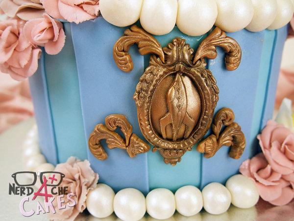 Pastel Stitch Disney 3 Stitch and Angel Cake