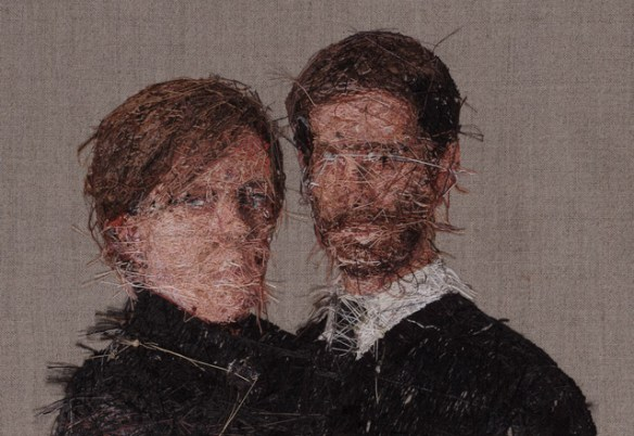 59 New Photorealistic Portraits Hand Embroidered by Cayce Zavaglia